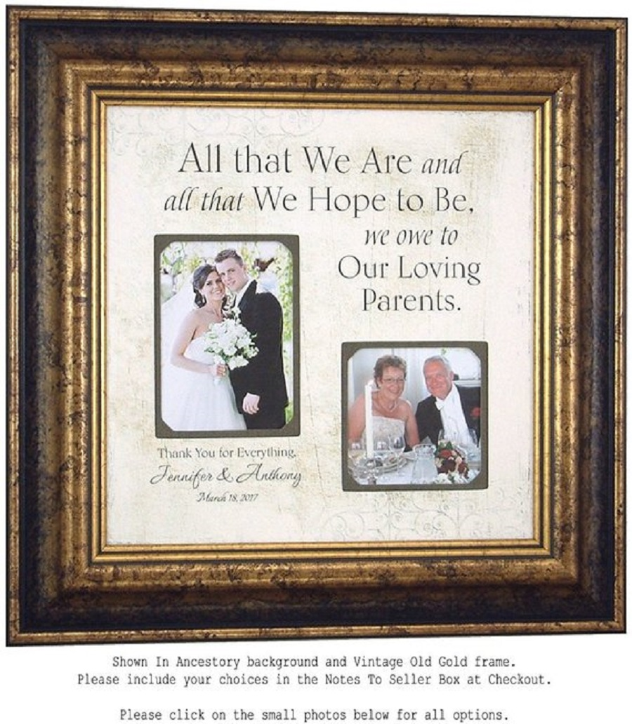 parents wedding day picture Wedding Gift for Parents