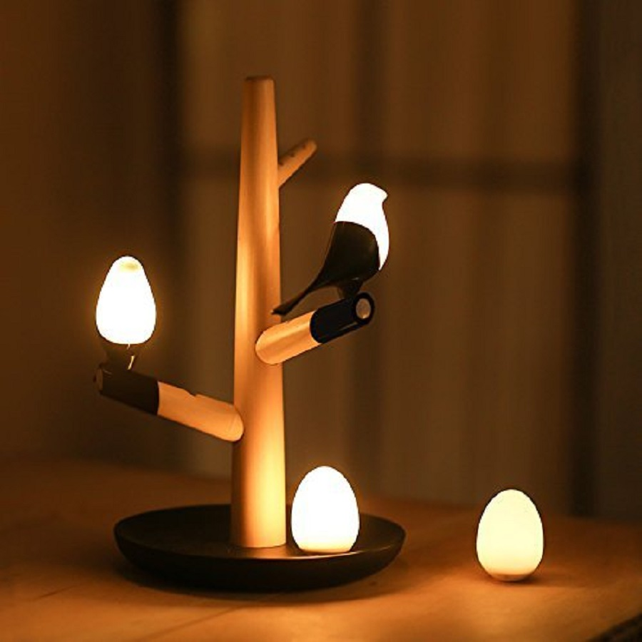 a unique table lamp with contemporary design as wedding gift for best friend