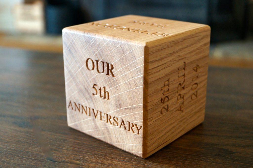 wooden wedding anniversary 2