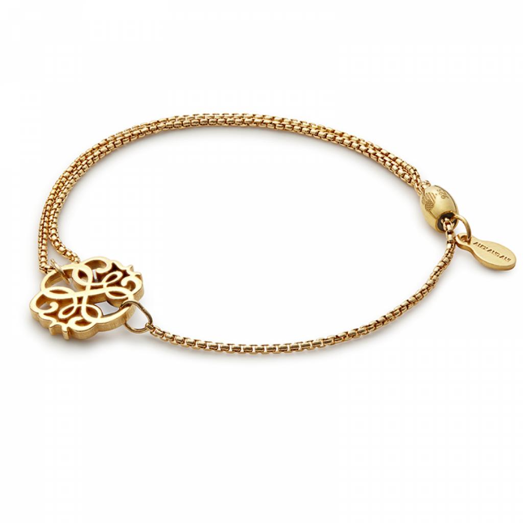 yellow gold chain bracelet for women
