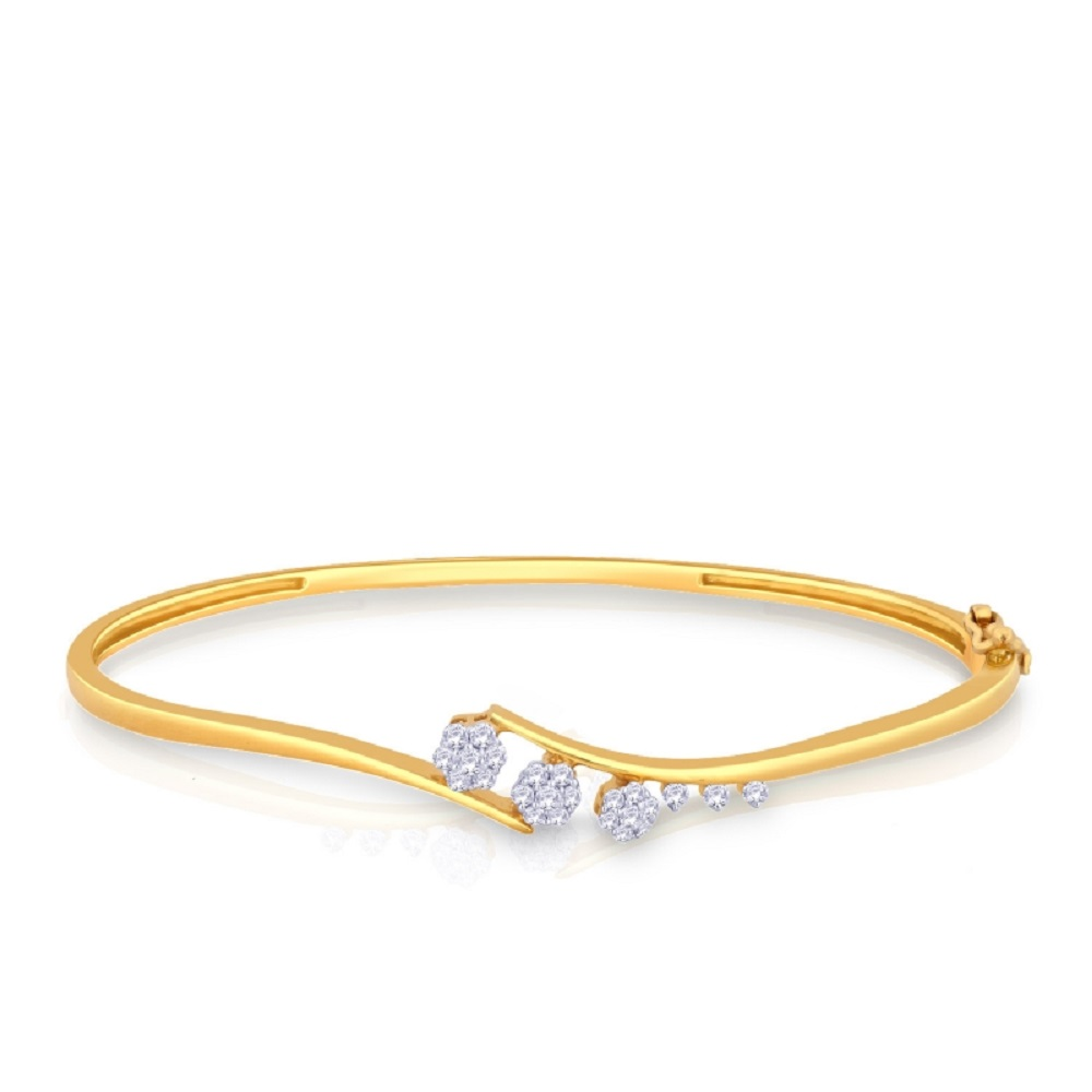 diamond gold bracelet designs for ladies