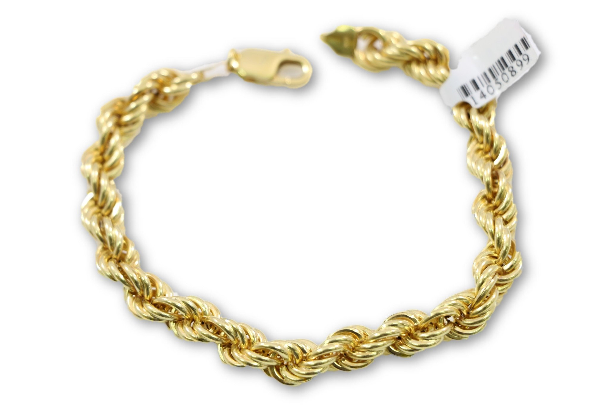 rope gold chain bracelet design for women