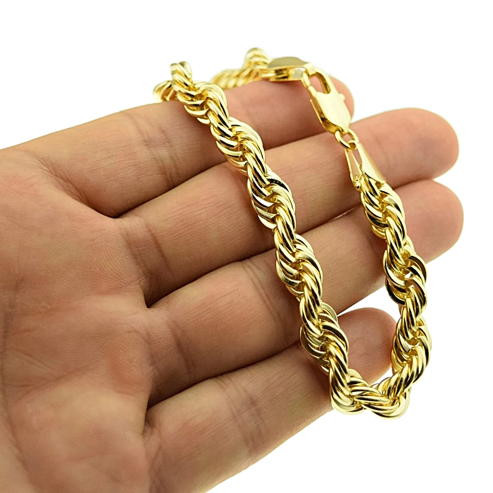 rope gold chain bracelet for women
