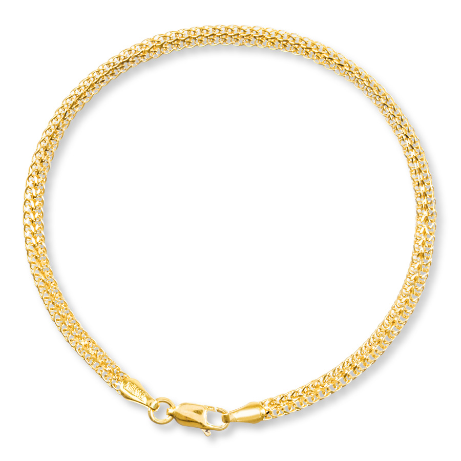 wheat gold chain bracelet for girls