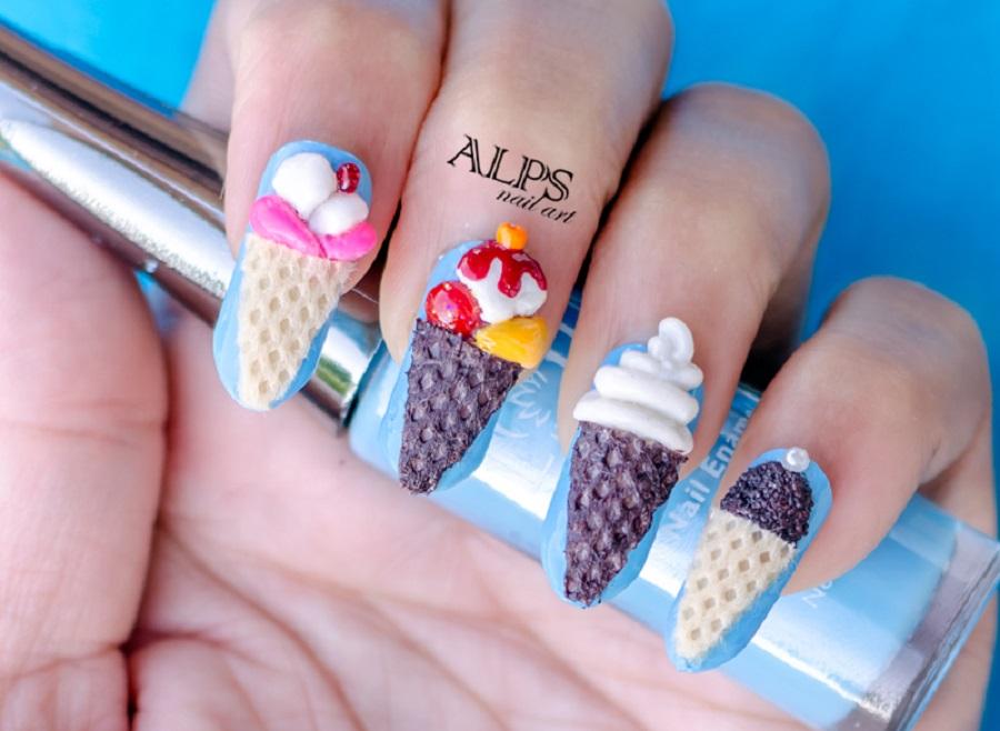 Ice Cream Drip Cute Design