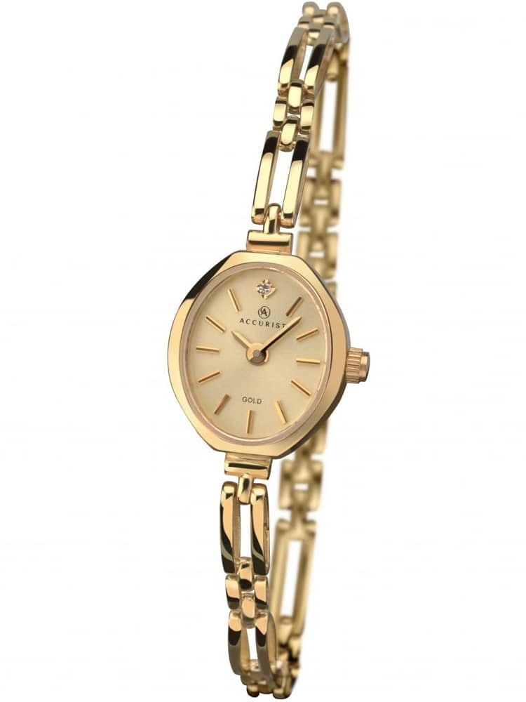 ct Ladies Gold Bracelet Watch