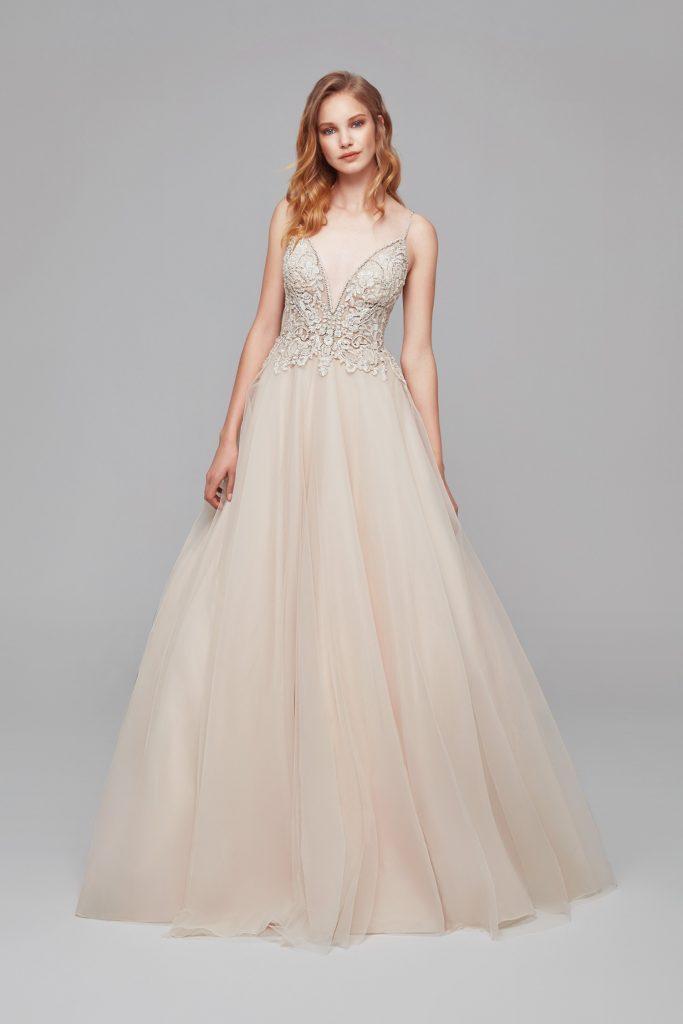 A Line Wedding Dresses Bohemian