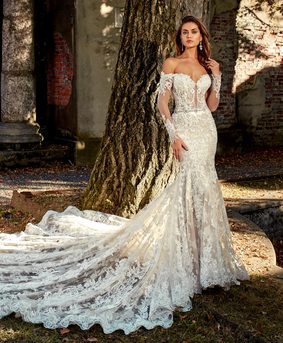 Beautiful A Line Wedding Dresses Off The Shoulder