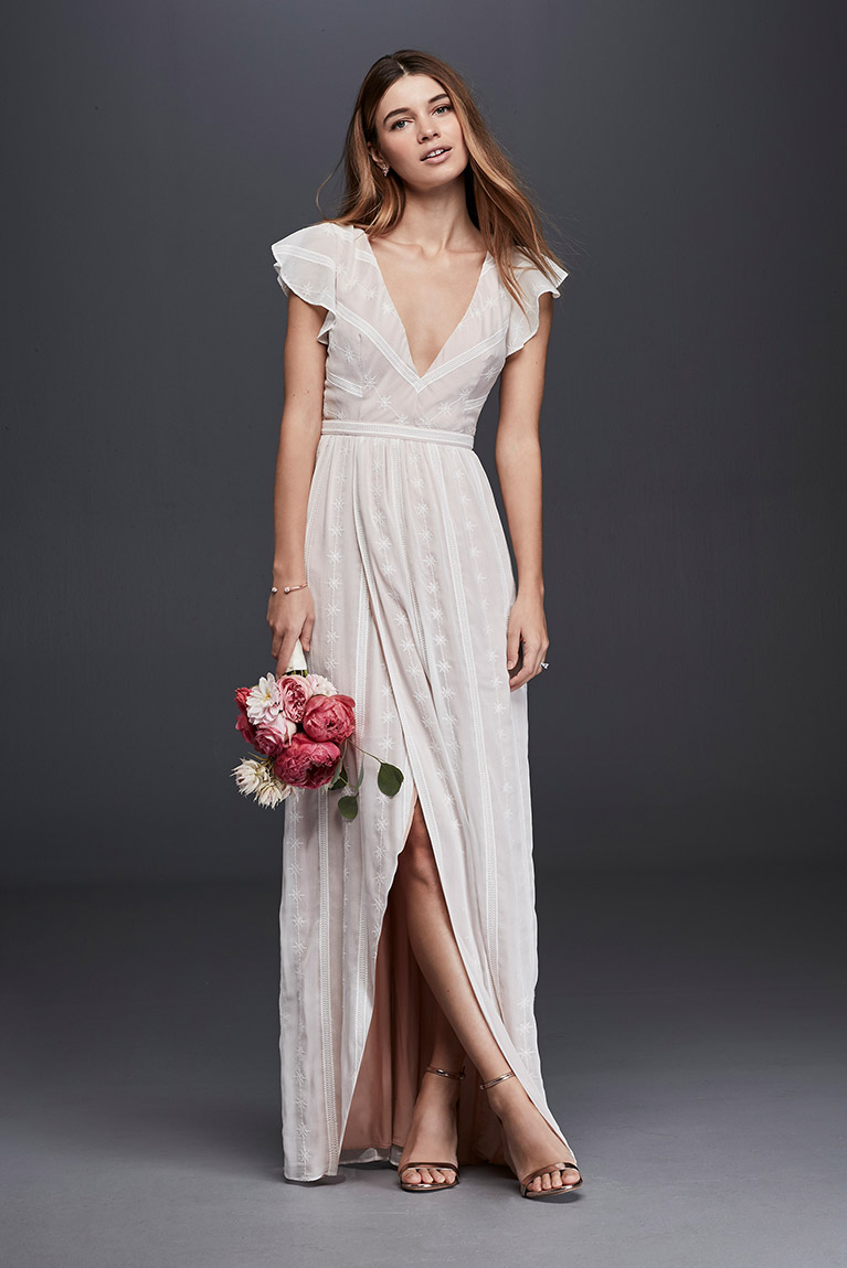 Beautiful Casual Wedding Dresses for Summer