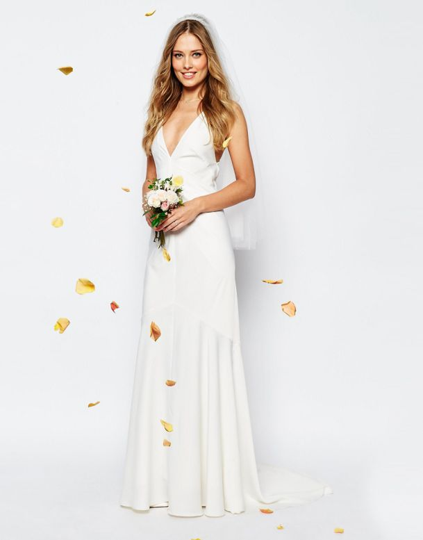 Beautiful Cheap Wedding Dresses from Asos