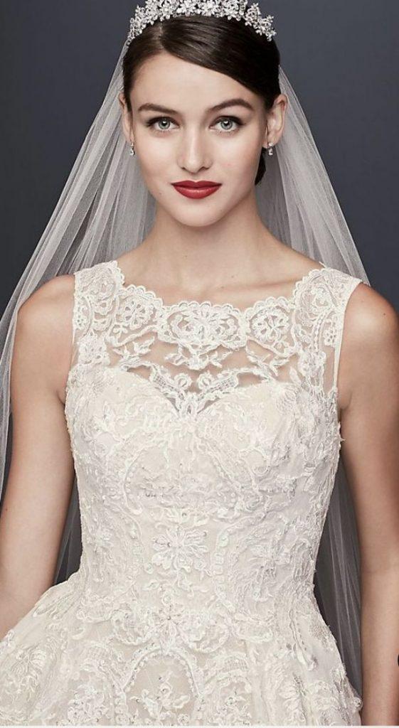 Beautiful Elegant Princess Wedding Dresses Classy