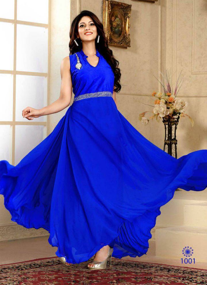 Beautiful Royal Blue Dress