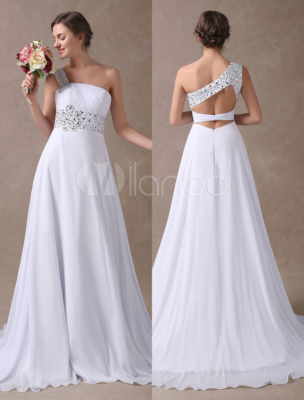 Beautifull White Summer Wedding Dresses