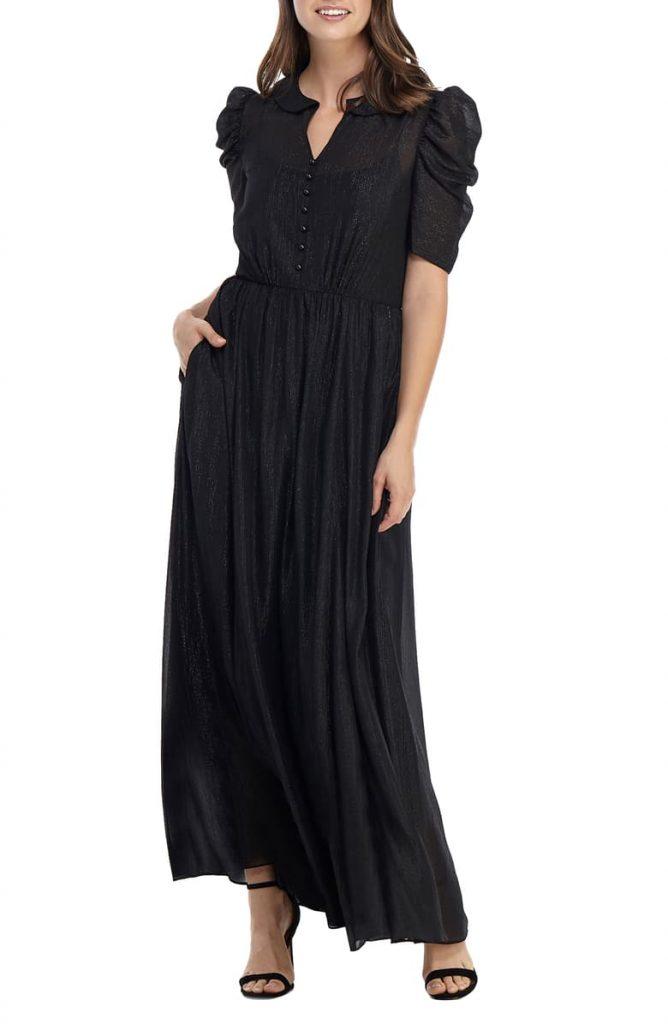 Black Long Dress Classy Evening Gowns