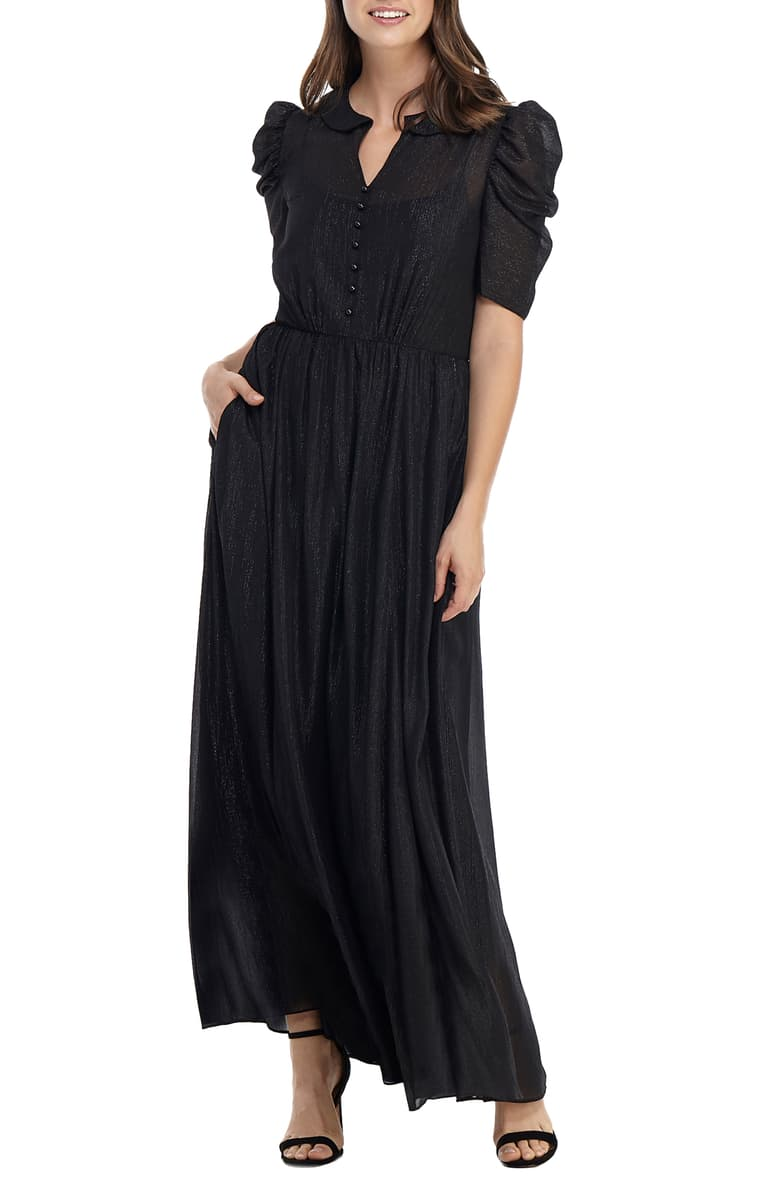 Black Long Dress Classy Evening Gowns