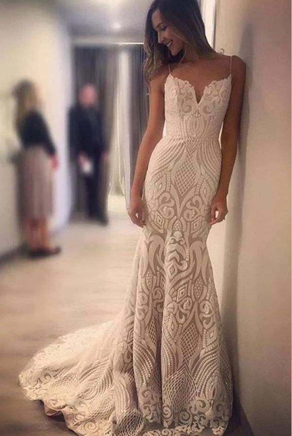 Cheap Rent Lace Wedding Dresses