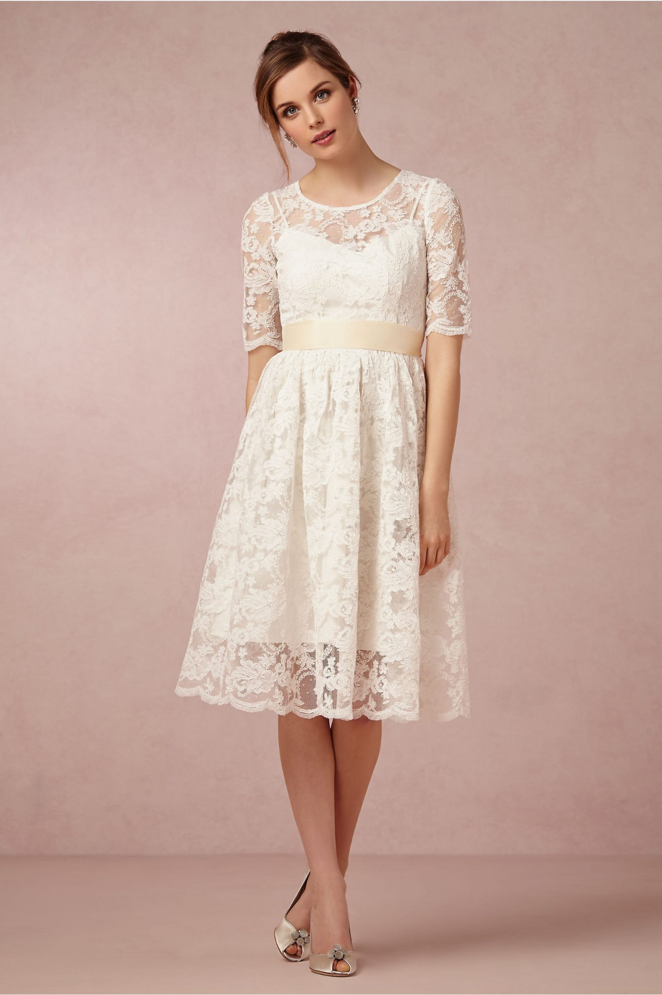 Courthouse Wedding Short Casual Wedding Dresses