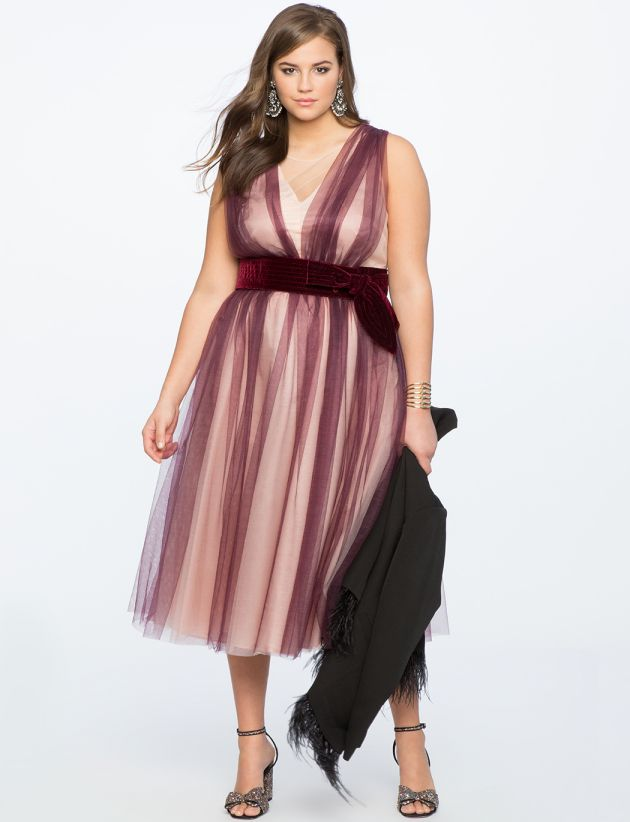 Cute Dress for Plus Size Womens