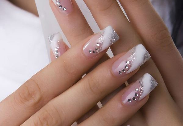 Cute Wedding Nails for Bride Classy