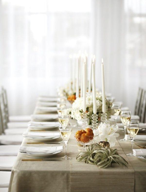 Elegant Modern Wedding Table Ideas