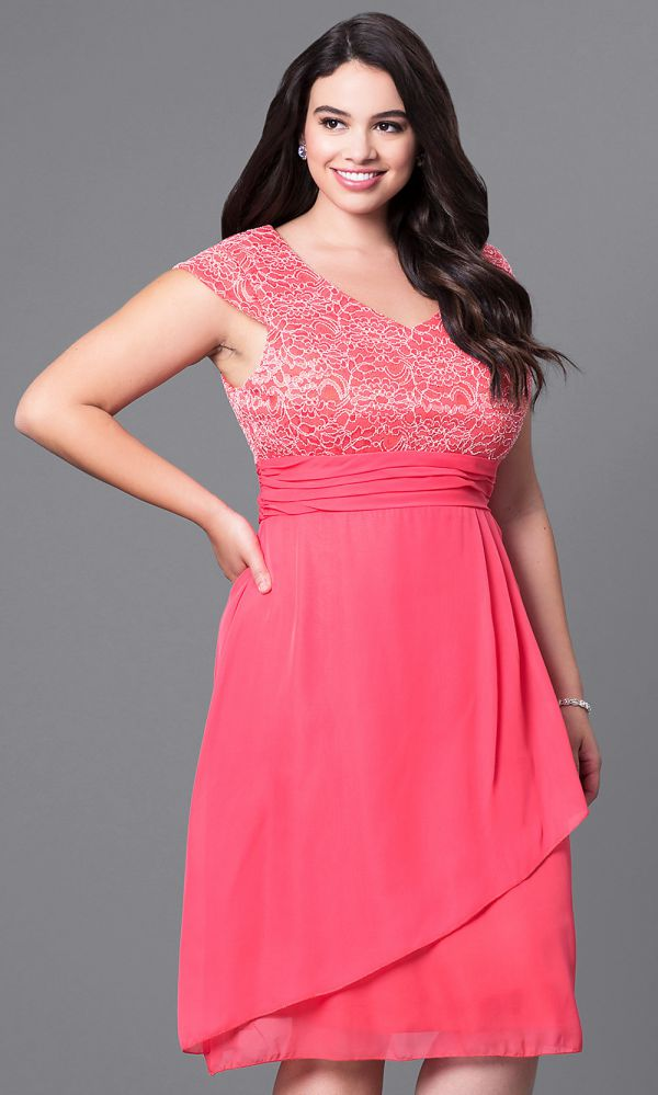 Elegant Plus Size Party Dresses