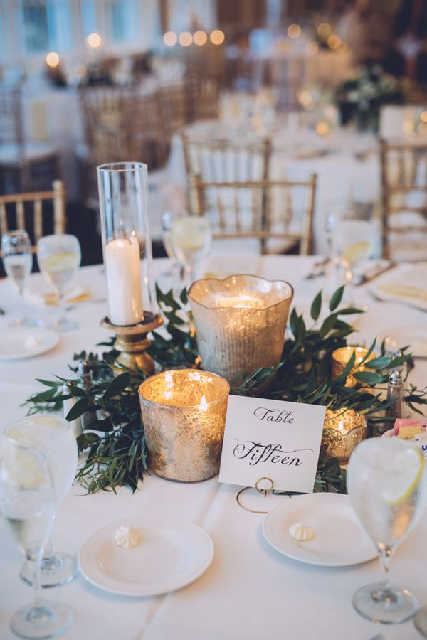 Elegant Winter Wedding Table Ideas