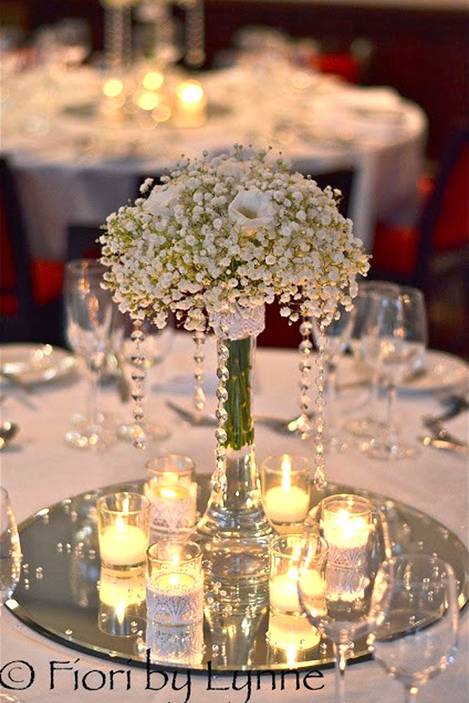 Fabolous Mirror Wedding Table Ideas