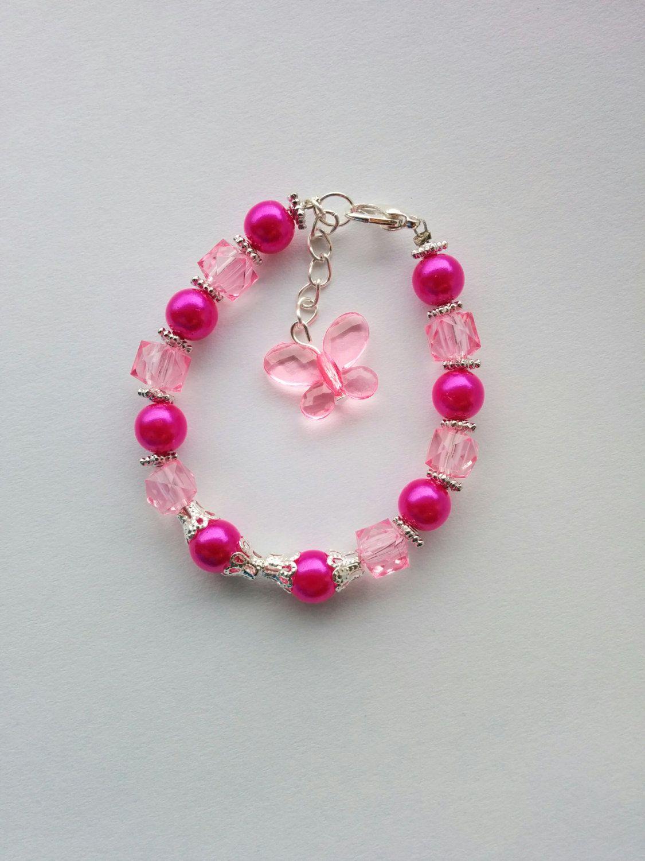 Fashionable Pink Bracelets for Girls