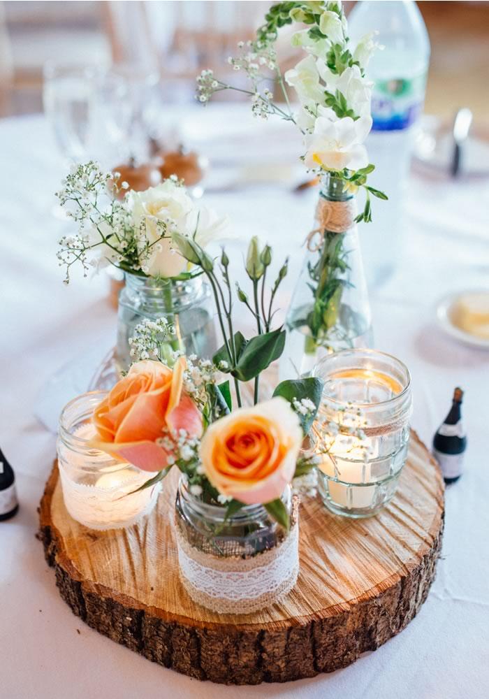 Flower Wedding Table Ideas