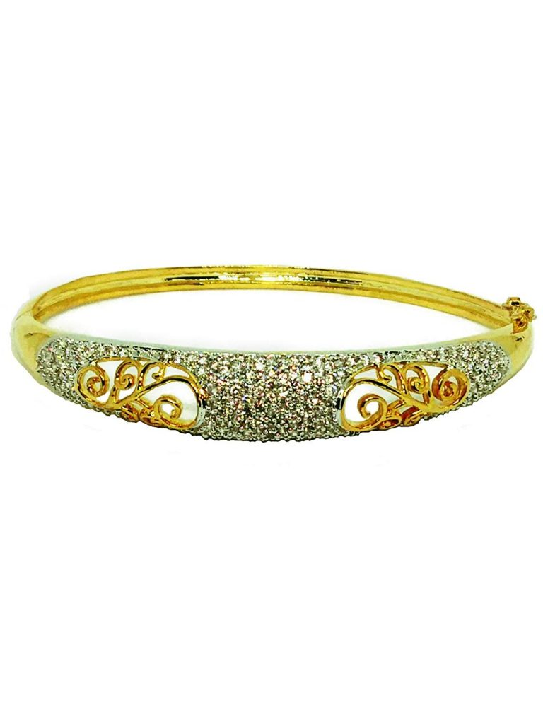 Gold Diamond Bracelets For Girls
