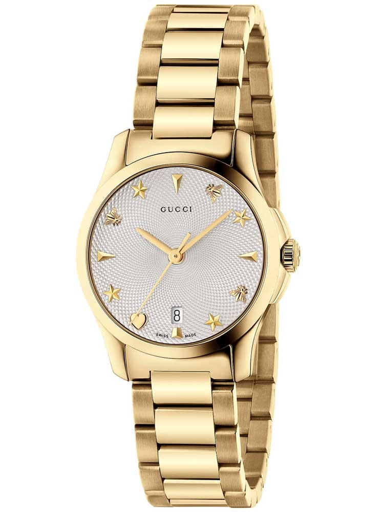 Gucci Ladies Gold Bracelet Watch