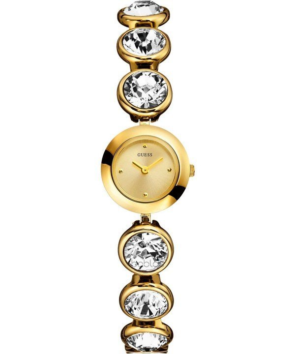 Guess Spotlight Ladies Gold Bracelet Watch