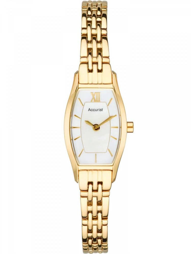 Ladies Gold Bracelet Watch