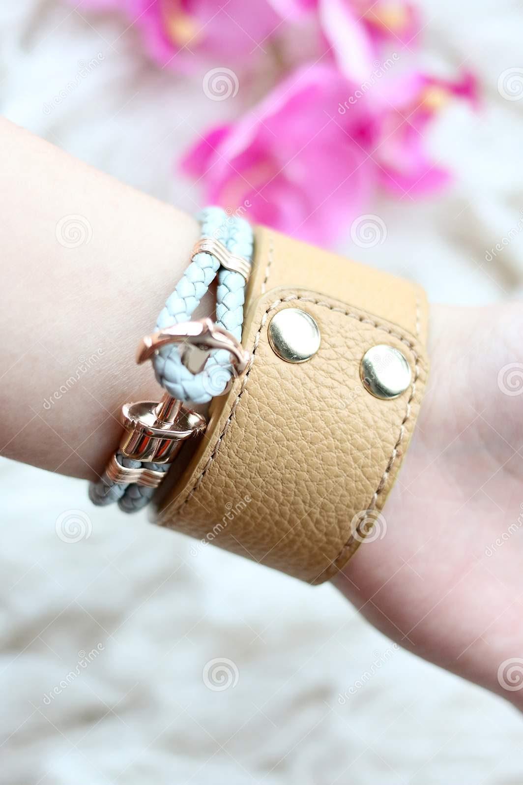 Leather Bracelets for Girl