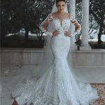 Elegant Long Sleeve Wedding Dress Lace for Every Bride Style