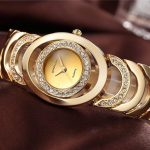 Ladies Gold Bracelet Watch as a New Style for Women