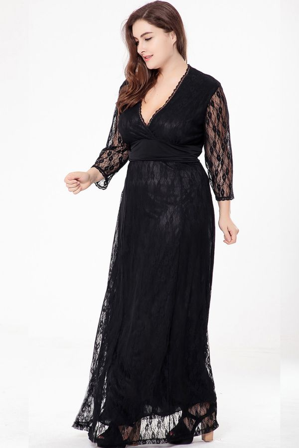 Maxi Dress for Plus Size Womens