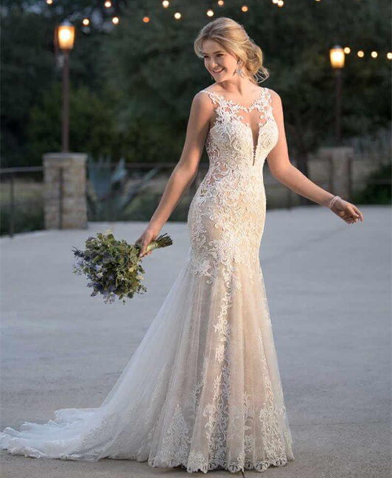 Mermaid Summer Wedding Dressses