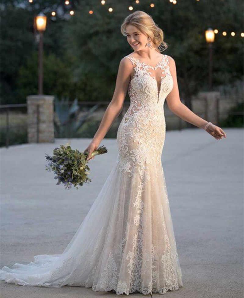 Mermaid Summer Wedding Dressses