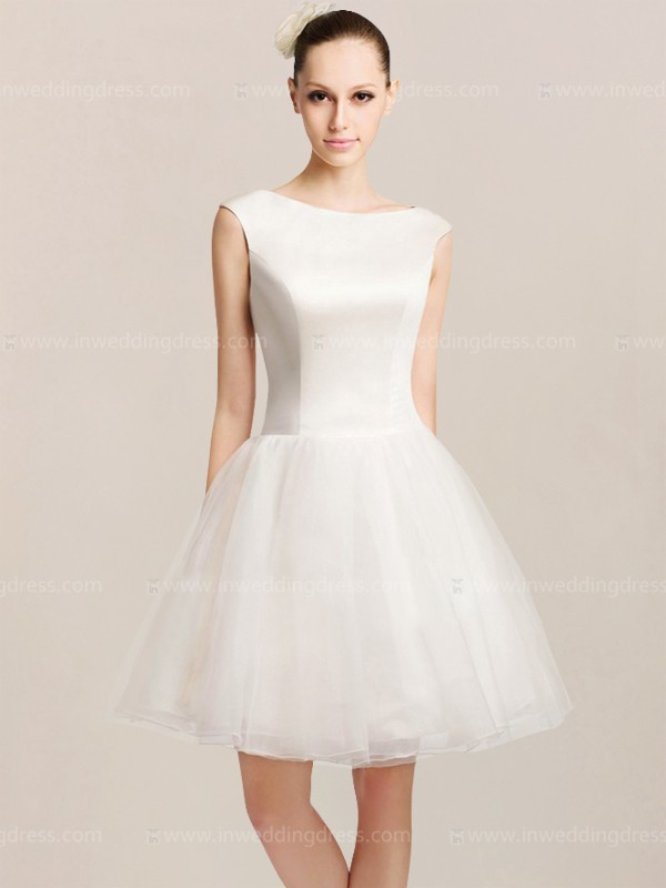 Modern Casual Short Wedding Dresses