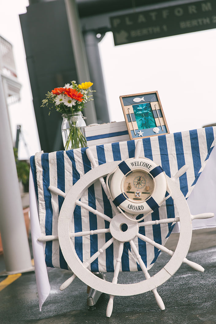 Nautical Theme Table Decorations for Wedding Ideas