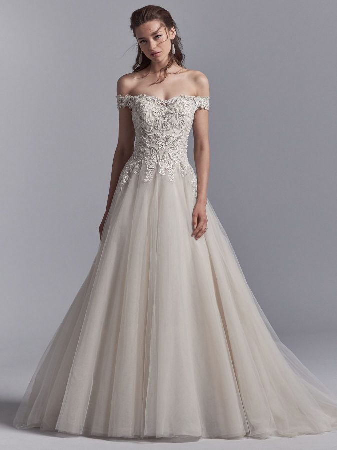 Off Shoulder Wedding Dresses
