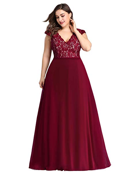 Plus Size Bridesmaid Dresses Halley Bridesmaid Dress in Burgundy