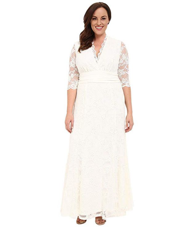 Plus Size Cheap Wedding Dresses from Zappos