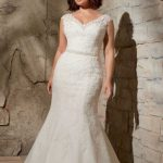 Gorgeous Plus Size White Dress to Wear on Your Wedding Day
