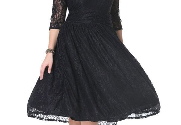Plus size Cocktail formal dresses