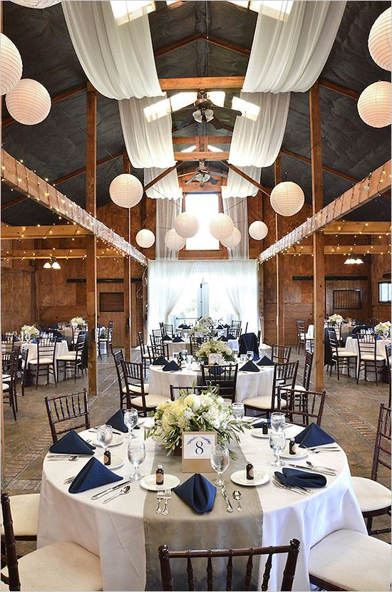 Rustic Nautical Table Decorations for Weddings