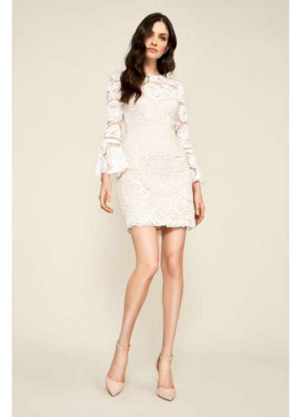 Short Lace Gabby Wedding Dress