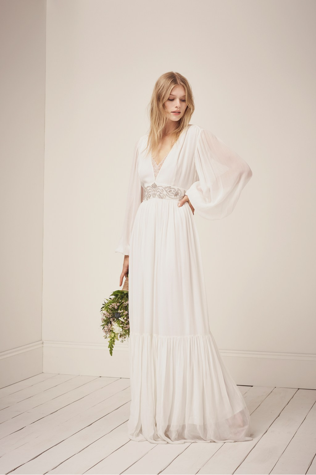 Sparkle Maxi Summer Wedding Dresses