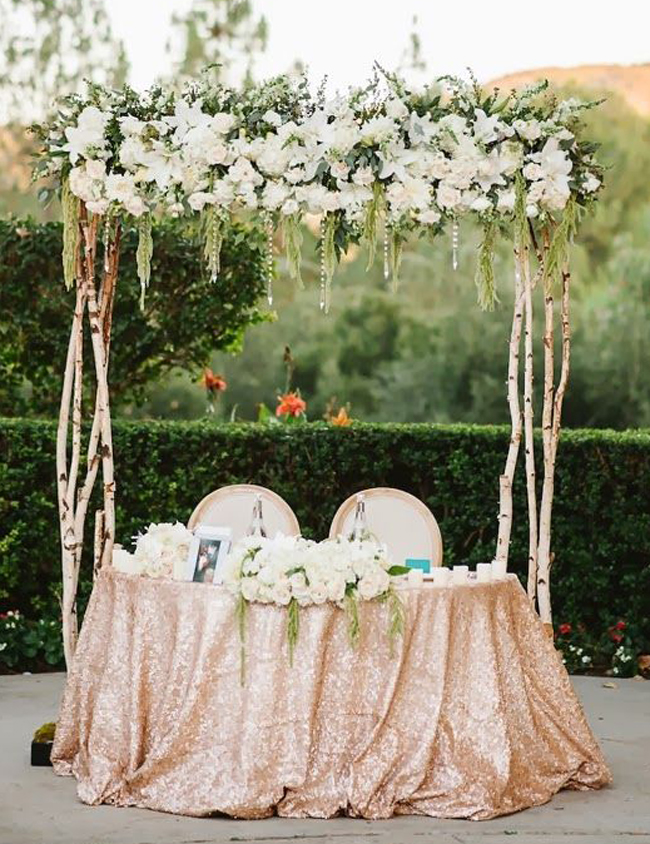 Sweatheart Wedding Table Ideas